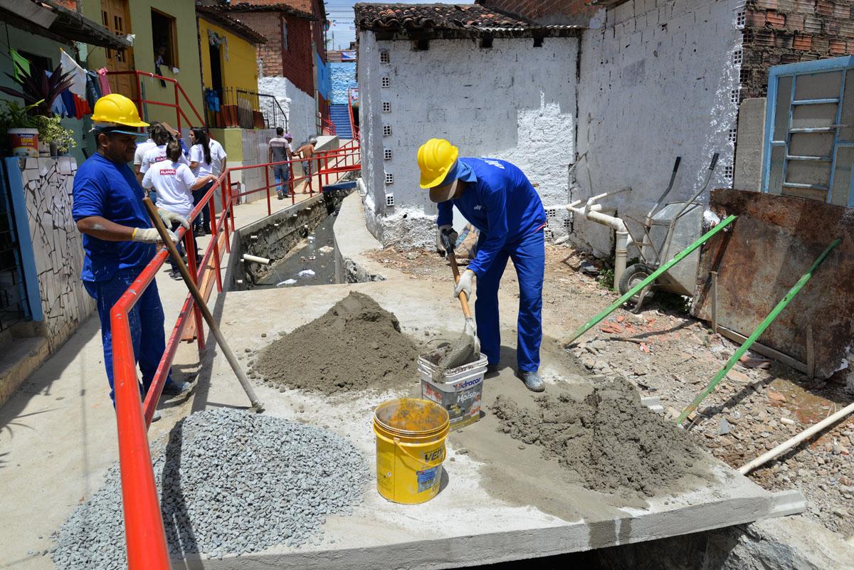 Seinfra inicia reforma das 25 habitações selecionadas no Programa Vida Nova nas Grotas (Foto: Keila Oliveira)