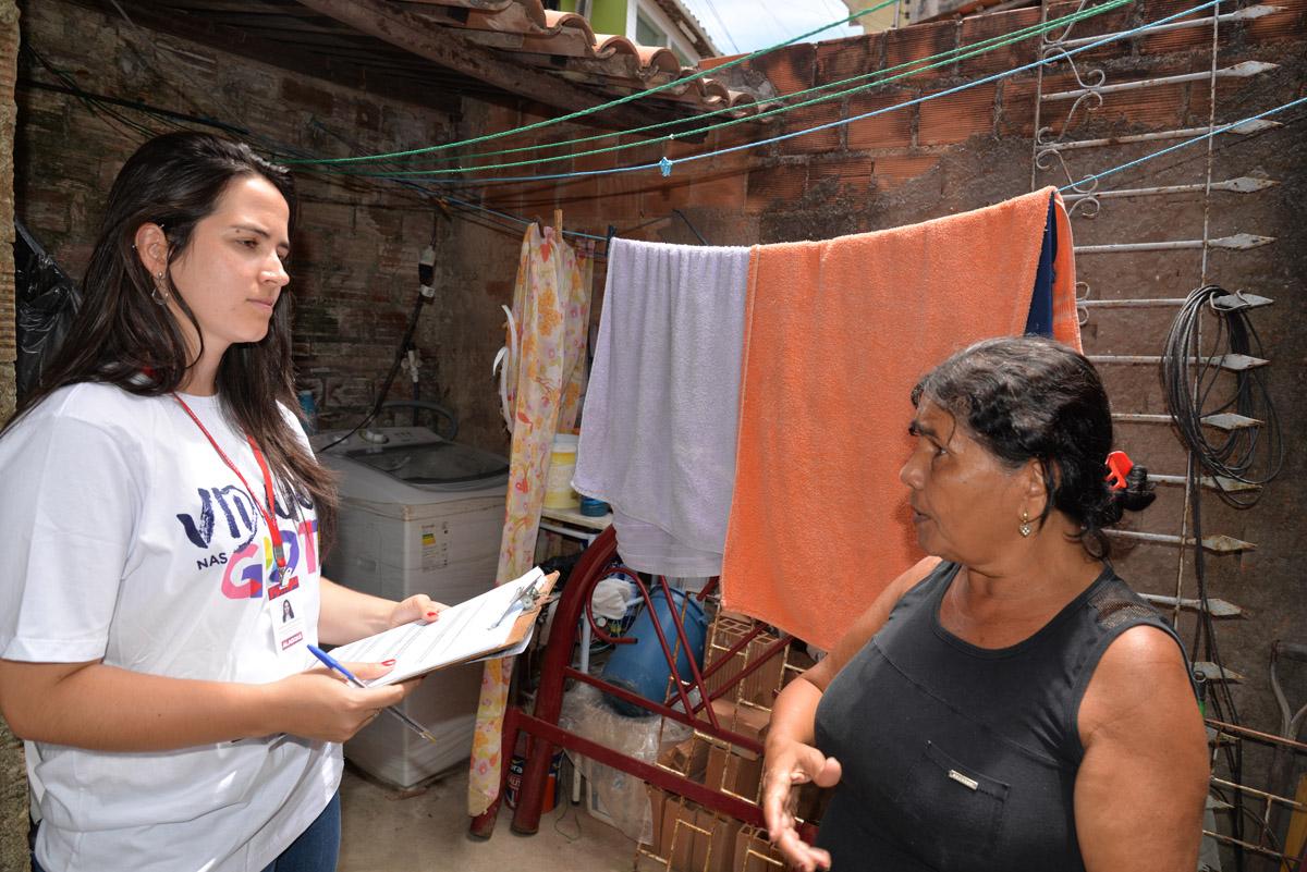 Dona Odete afirma que projeto reforma trará mudanças significativas para sua família (Foto: Keila Oliveira)