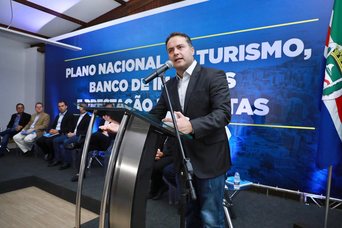 Lançamento do Plano Nacional de Turismo em Alagoas (Foto: Márcio Ferreira)