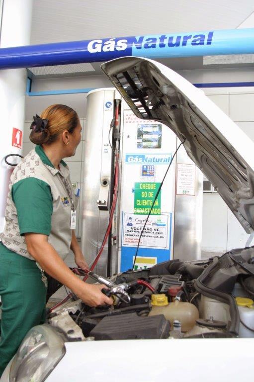 Crescimento em relação ao mesmo período de 2017 se deve à grande diferença entre preços do gás natural veicular e combustíveis líquidos (MSGÁS/POTIGÁS)