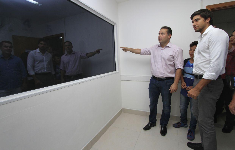 Inauguração do novo Complexo de Delegacias de Maceió, que integra a Delegacia de Homicídios e Proteção à Pessoa e Delegacia de Narcóticos