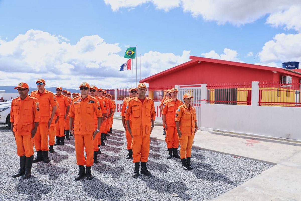 Inauguração dos Batalhões da PM e CBMAL em Delmiro Gouveia (Foto: Márcio Ferreira)