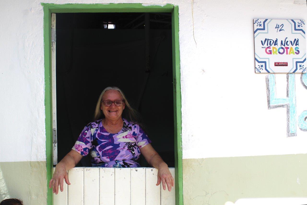 Comunidade no bairro de Chã da Jaqueira foi a primeira a receber ações de melhoramento de residências (Fotos: Ascom Setrand)