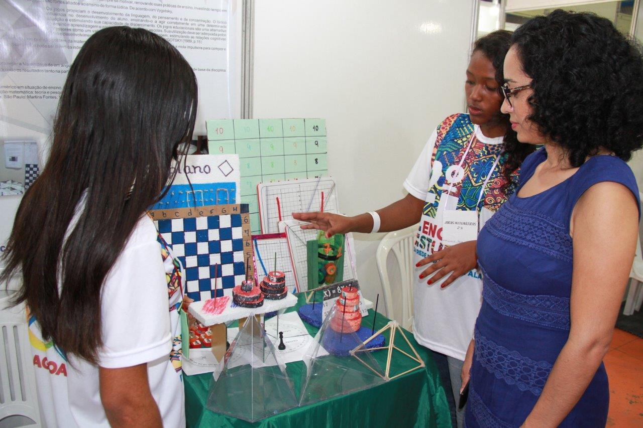 Mostra expõe seleção de trabalhos desenvolvidos nas escolas da rede (Fotos: Valdir Rocha)