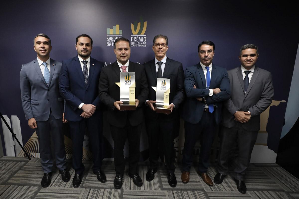 Premio de Excelência e Competitividade (Foto: Márcio ferreira)