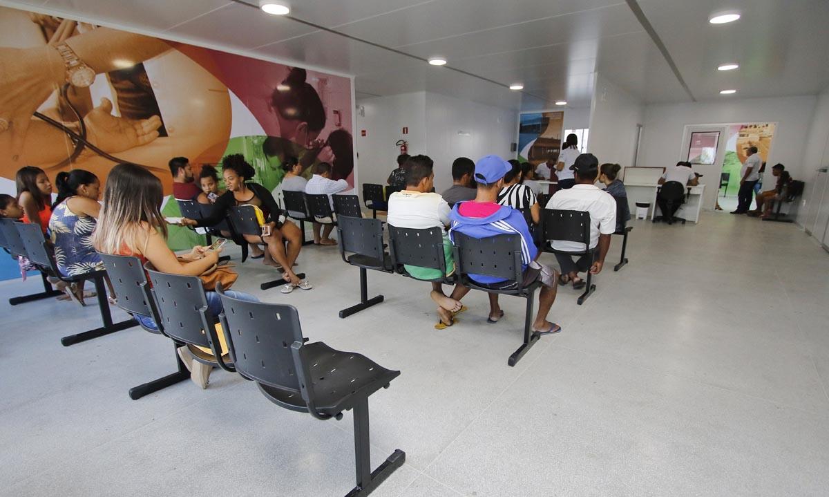 Primeiro dia de funcionamento da UPA do Jacintinho (Foto: Thiago Sampaio)