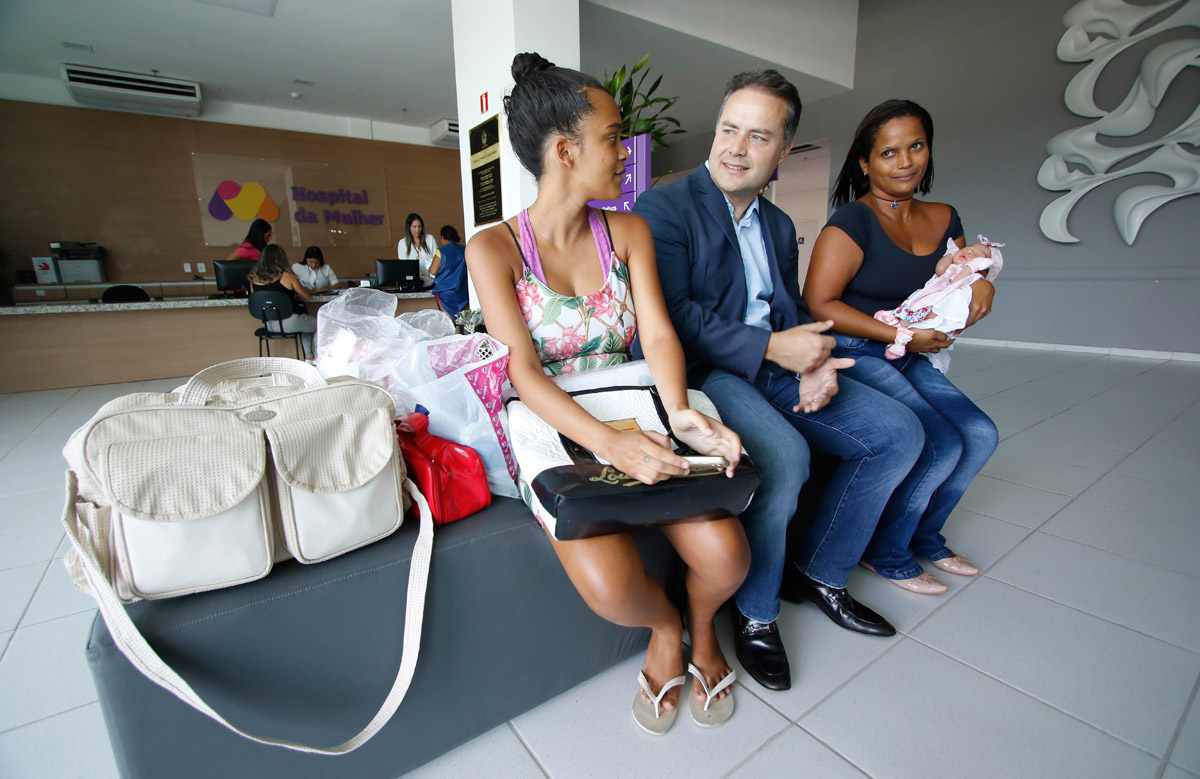 Um mês após abrir as portas, a unidade realizou 123 partos, sendo 70 normais e 53 cesáreos (Thiago Sampaio)