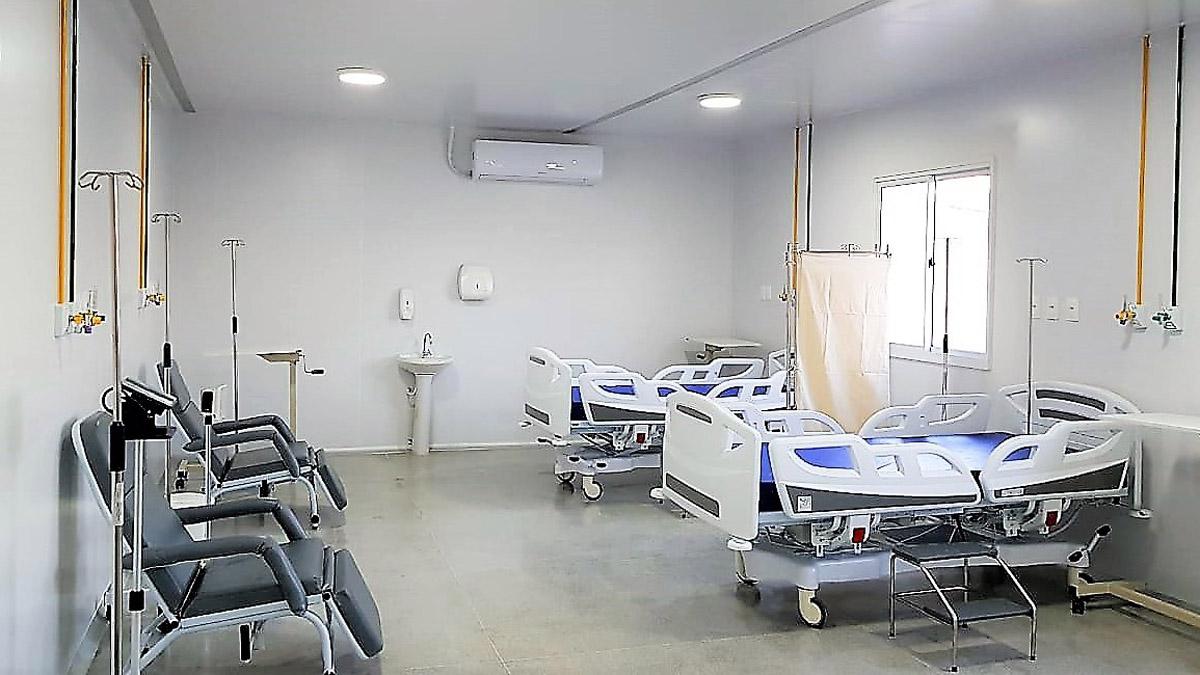 Unidade de Pronto Atendimento do Jacintinho será inaugurada nesta sexta (1º) com 19 leitos, sendo 15 de observação e quatro de urgência (Carla Cleto)