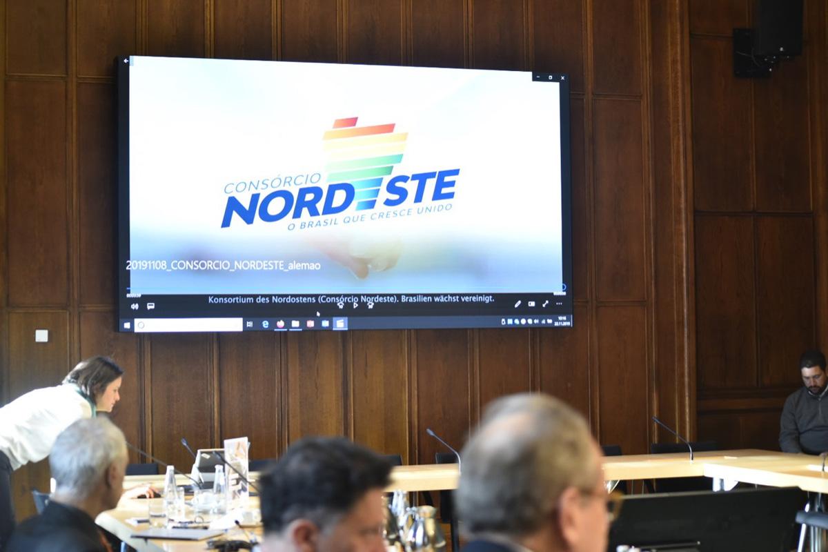 Os governadores do Nordeste encerram, nesta sexta-feira (22), a missão internacional à Europa (Divulgação)