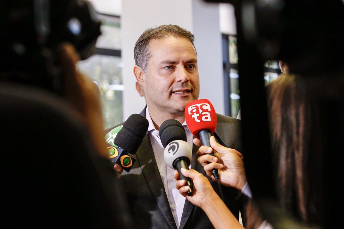 """O governador Renan Filho afirmou que as metas estabelecidas para este ano na Segurança Pública foram alcançadas e que 2019 foi """"muito simbólico e significativo"""" do ponto de vista da redução da violência em Alagoas (Márcio Ferreira)"""